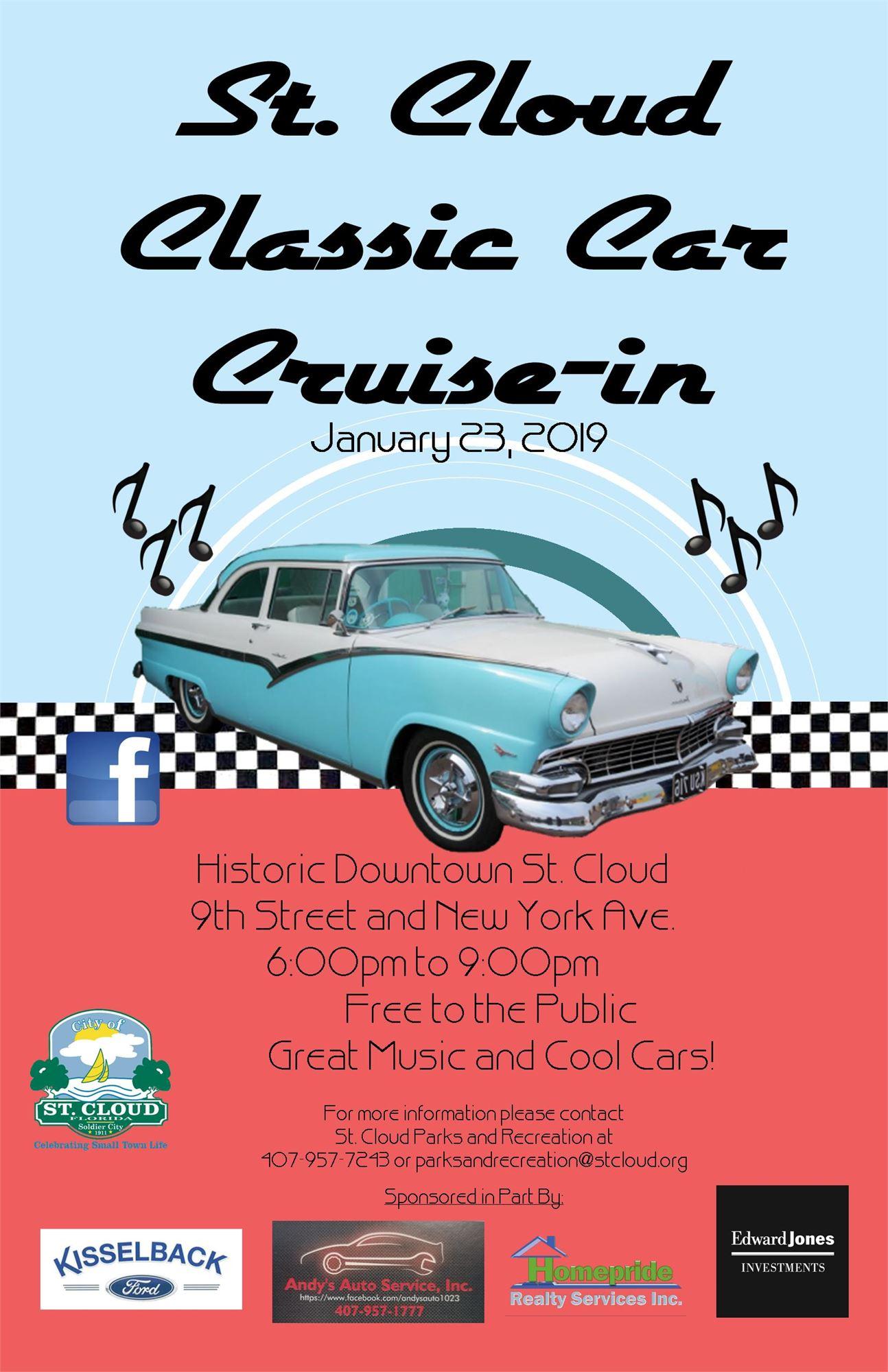 St Cloud Classic Car Cruise In