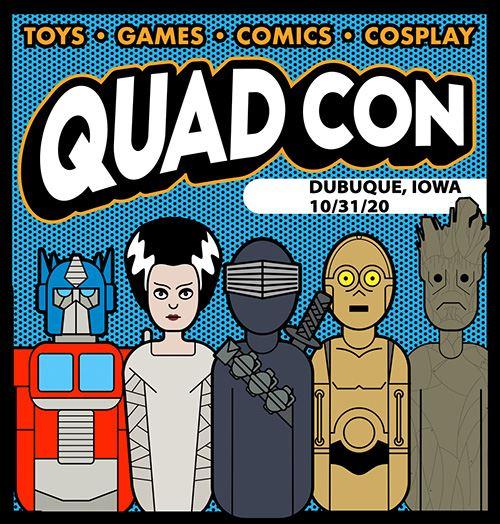 Comic Con 2020 Halloween Quad Con 2020   Halloween Comic and Toy Show