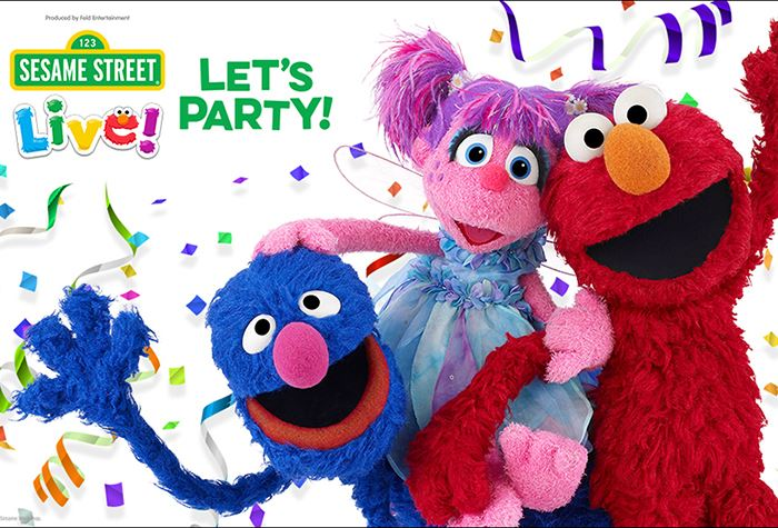 326bc8b1d Sesame Street Live! Let's Party! - Florence Center - March 6, 2019