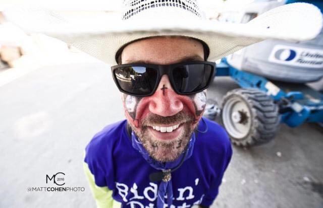 Rodeo Clown Matt Merritt