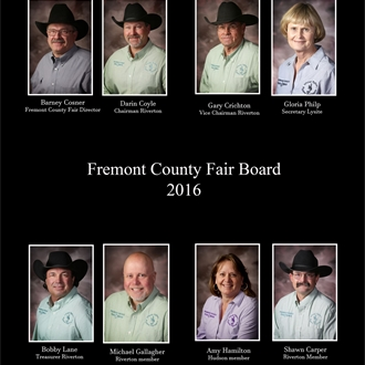 2016 Fremont County Fair Board