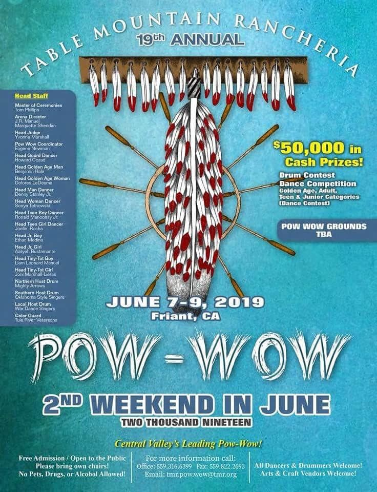 Table Mountain Rancheria 2019 Pow Wow