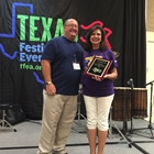 2016 TFEA Professional Volunteer of The Year Award ~ Flo Moore