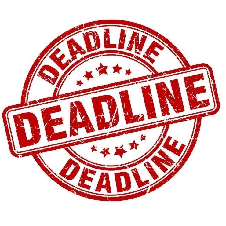 Entry Deadlines