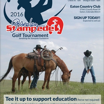 Tee it up for Weld County students at the Stampede Golf Tournament