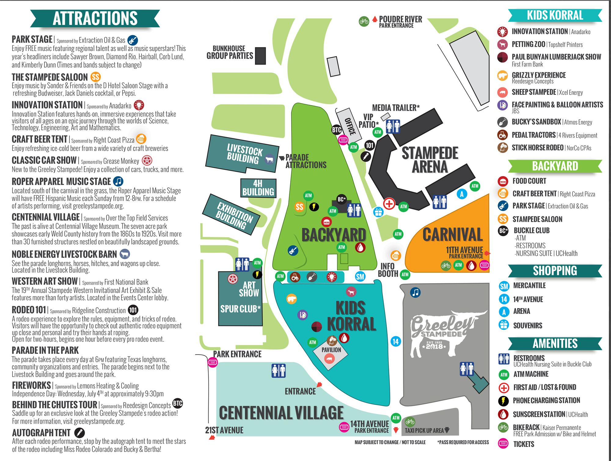 Stampede Grounds Map Maps