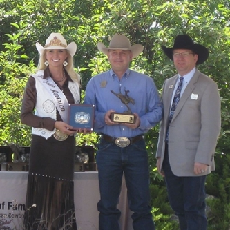 THE GREELEY STAMPEDE INDUCTED INTO THE PRO RODEO HALL OF FAME