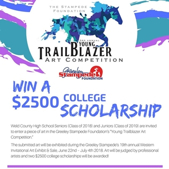 YOUNG TRAILBLAZERS ART SCHOLARSHIP