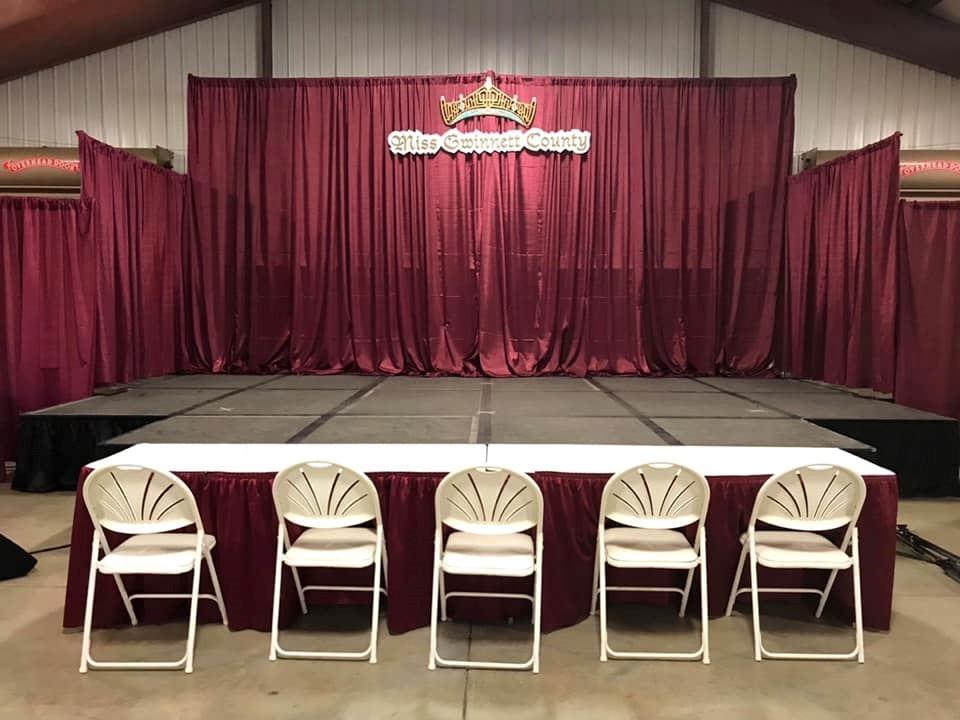 2019 Miss Gwinnett County Stage