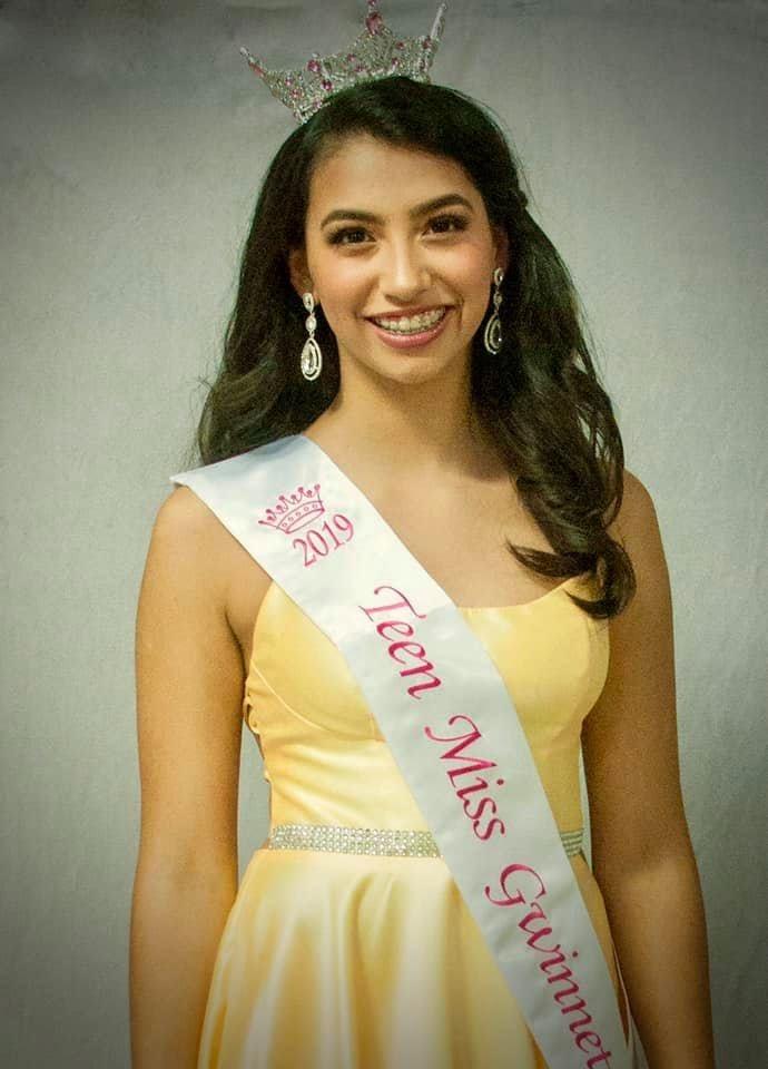 2019 Teen Miss Gwinnett Arianna Utreras