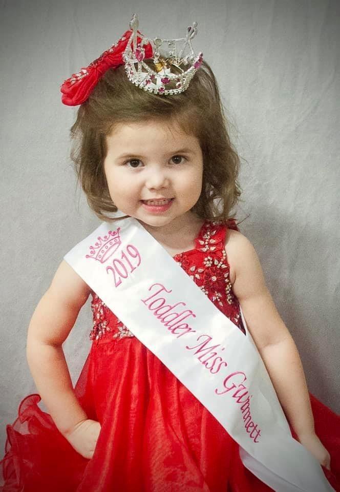 Toddler Miss Gwinnett: Bryxton Hansard
