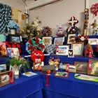 arts and craft exhibits on display
