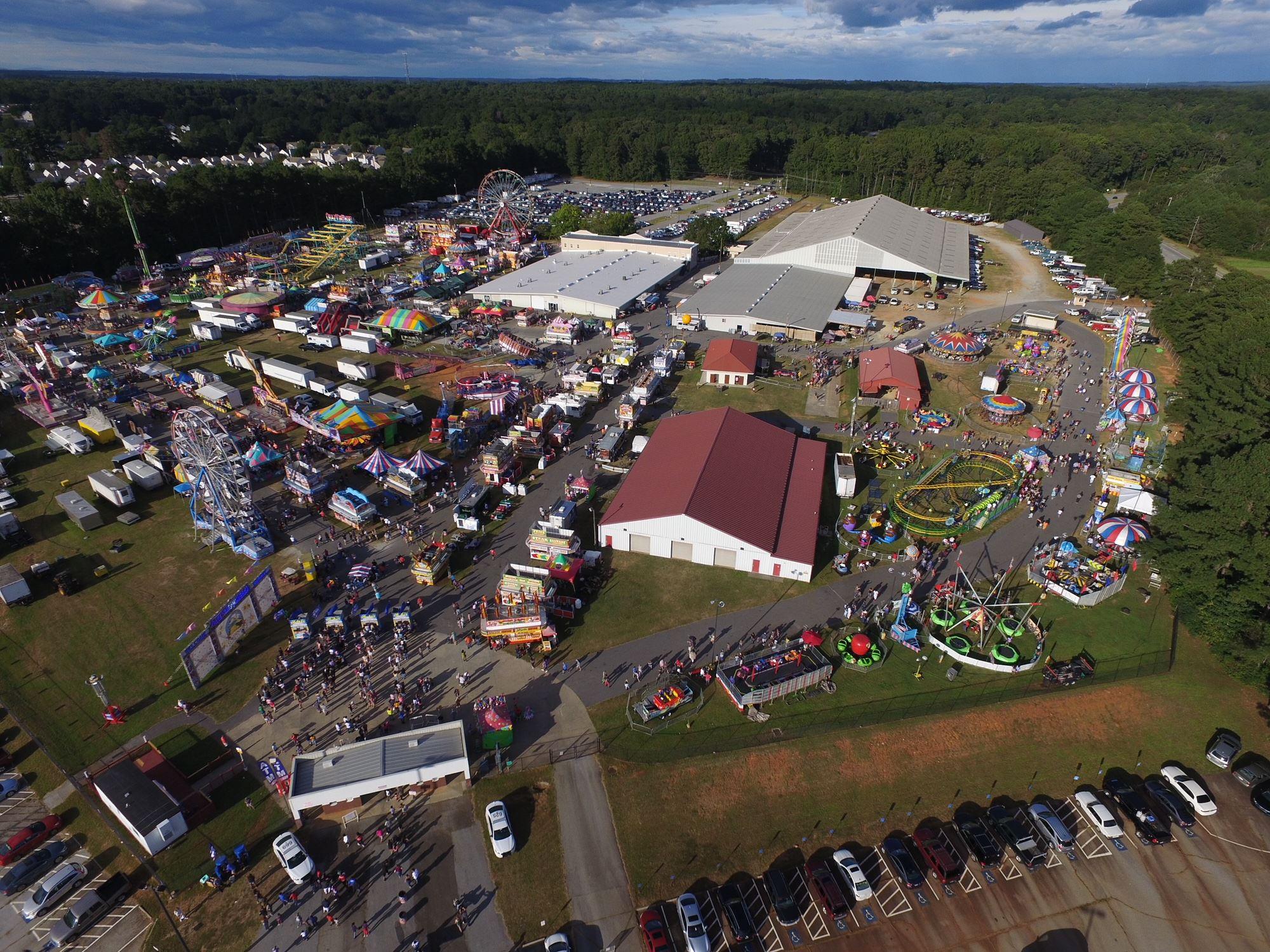 Fairgrounds Outdoor Area
