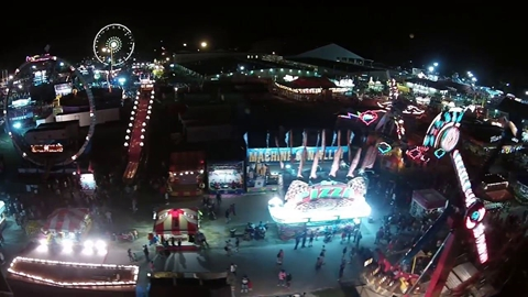 Midway at Night