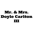 Mr. & Mrs. Doyle Carlton III