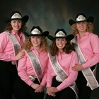 2008 Queen Michelle (True) Harris, Princess Amanda (Foley) Chambers, Princess Brianna (Williamson) Leitz, Princess Coryann (Radford) Newsom