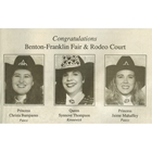 1994 Queen Synove (Thompson) Dominguez, Princess Christa (Bumpaous) Slaybaugh, Princess Jamie (Mahaffey) Sydnes