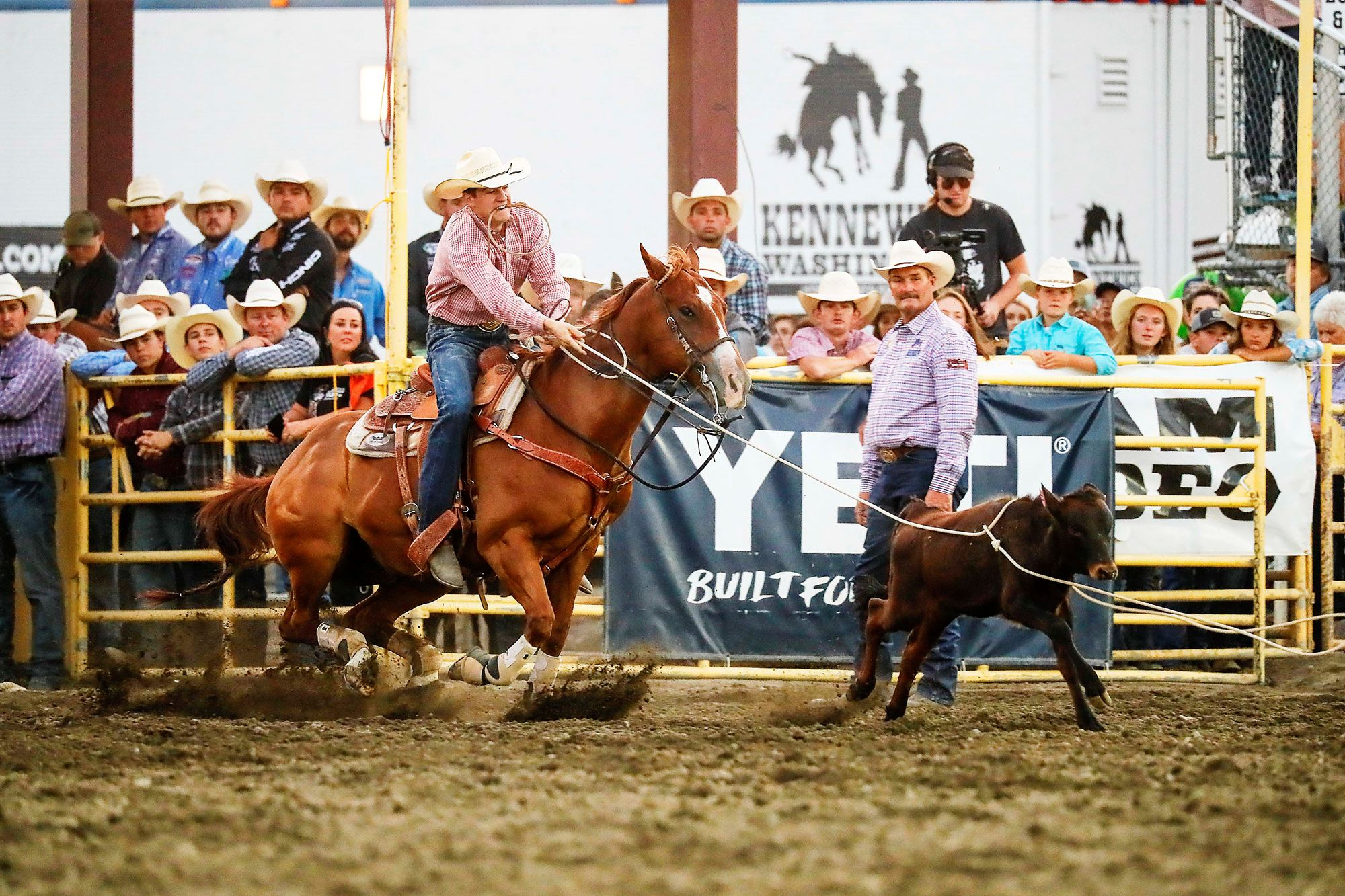 Justin Smith Tie Down Roping