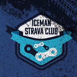 Strava Club image with link to the Iceman Strava Club