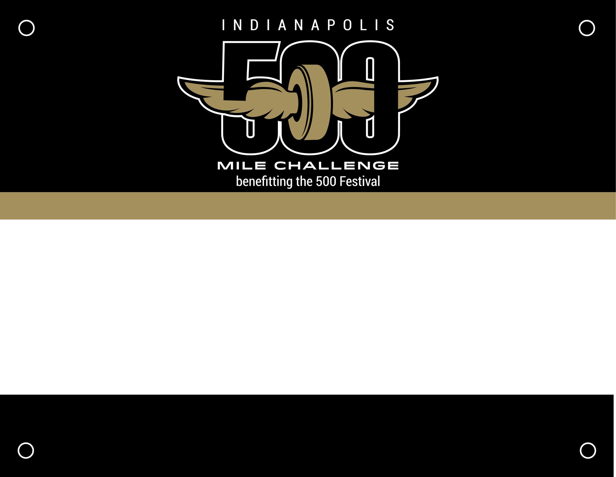 500 Miles Bib