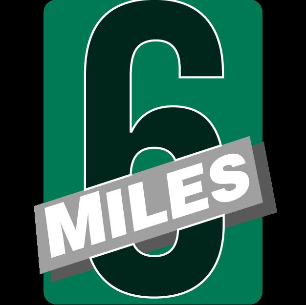 6-Miler Badge