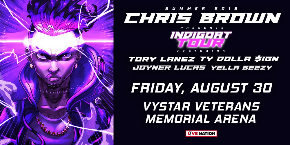 Chris Brown Indigoat Tour
