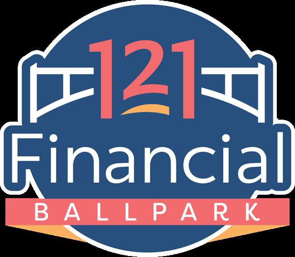 121 Financial Ballpark Logo
