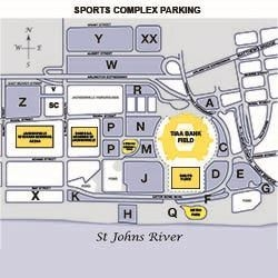 Parking Map of Sports Complex