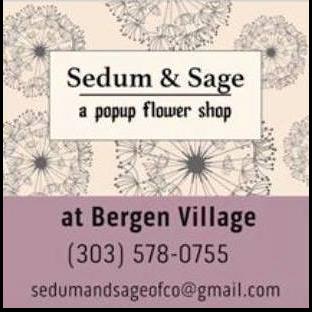 Sedum and Sage Pop-Up Flower Shop