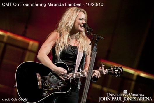 CMT on Tour Starring: Miranda Lambert