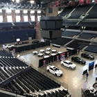 Car Training Event Setup on JPJ Arena Floor