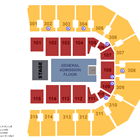 End Stage Concert - General Admission Seating Chart