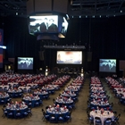 Banquet setup on JPJ Arena Floor