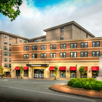 Exterior View of Residence Inn Downtown Charlottesville