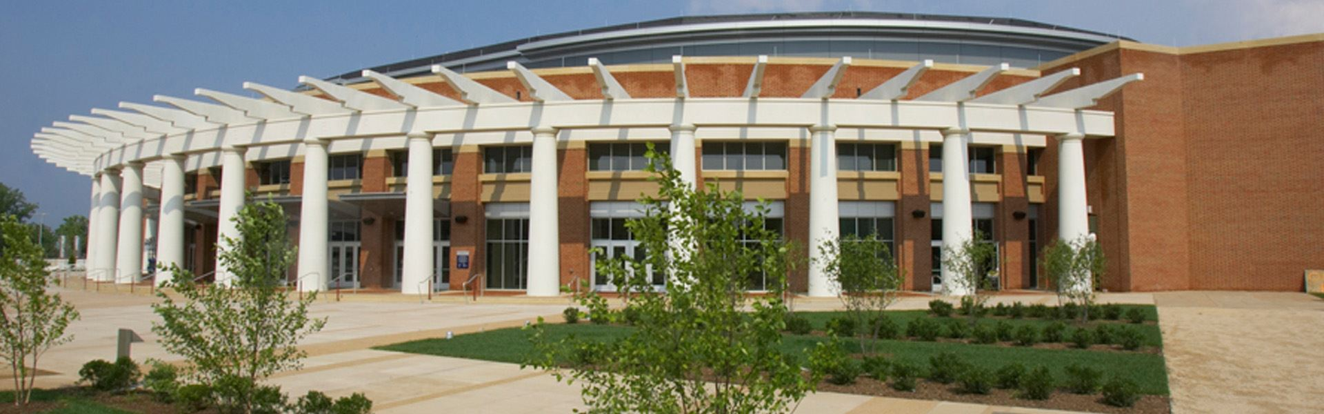 Exterior Side Angle of John Paul Jones Arena