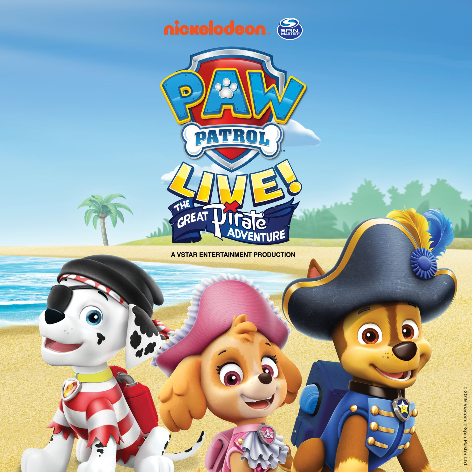 Paw Patrol - The Great Pirate Adventure