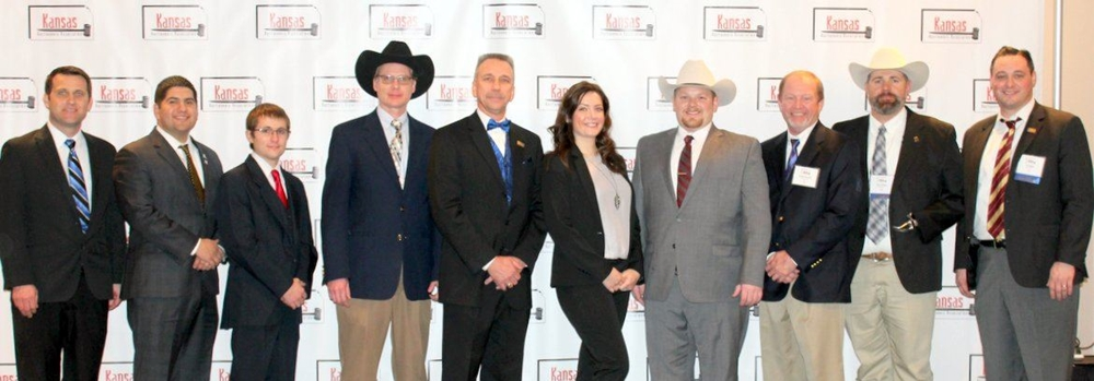 Contestants for the 2018 Kansas Auctioneer Championship