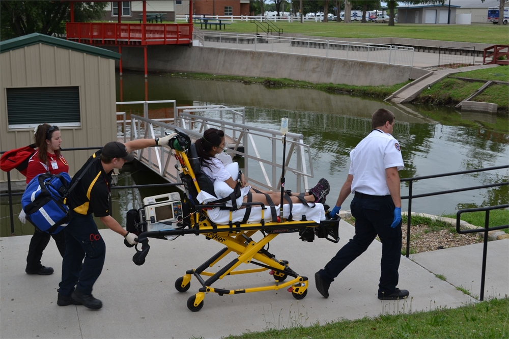 Hutchinson Community Field Operation's Event - Paramedic Students joining together for the ultimate learning experience!