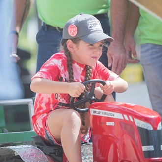 Youth Tractor Pull