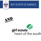 BOY SCOUTS  &  GIRL SCOUTS
