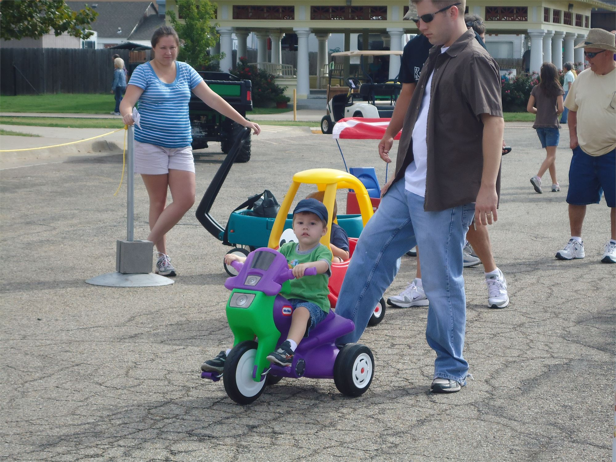 Toddler Games Driving School & Art Fair