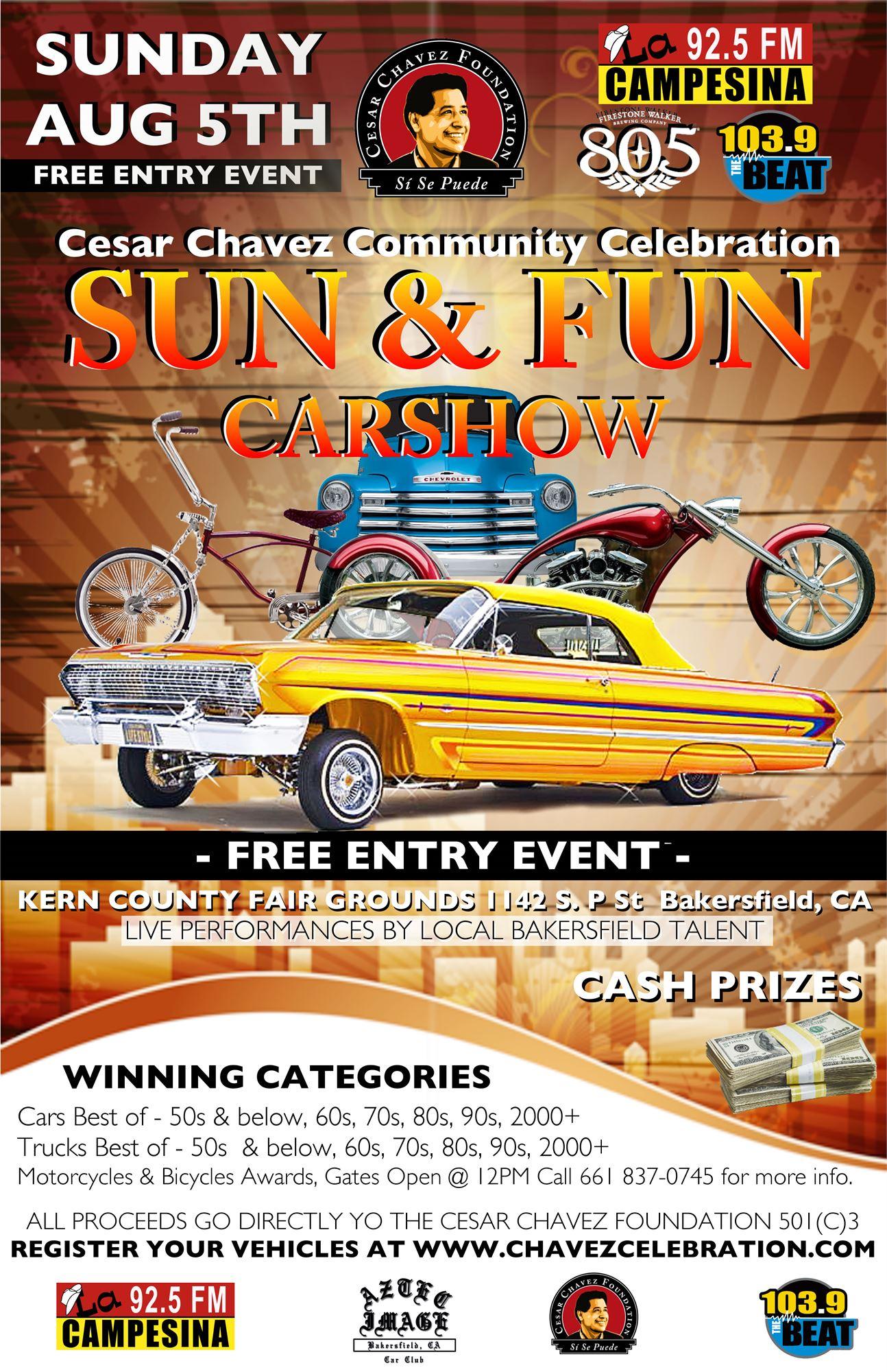 Sun Fun Carshow - Bakersfield car show