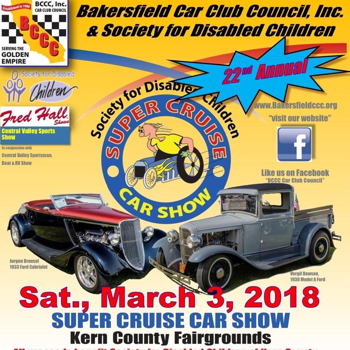 Super Cruise Car Show - Bakersfield car show