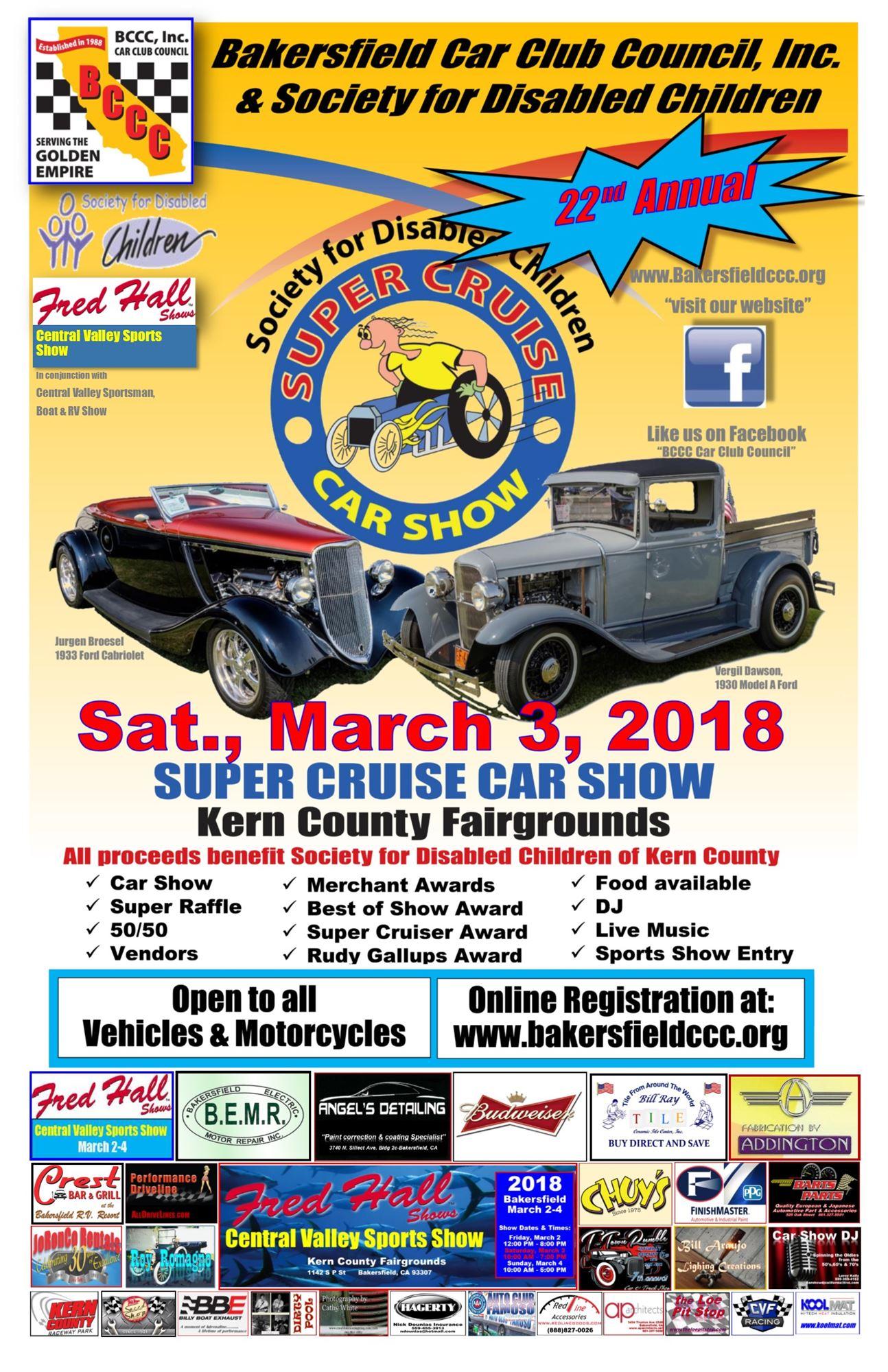 Super Cruise Car Show - Cruise car show