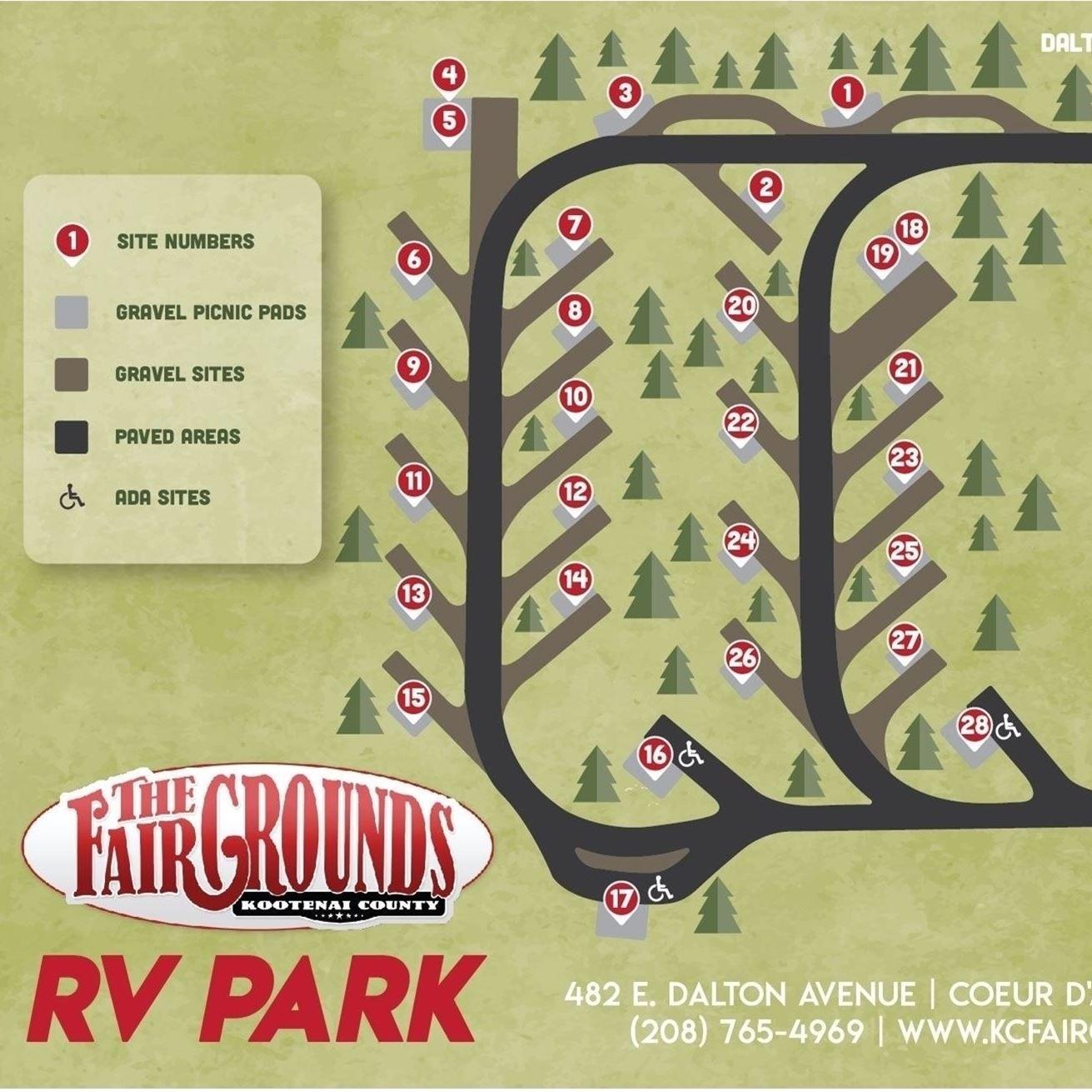 Kootenai County Fairgrounds Rv Park