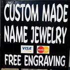 Custom Made Name Rings