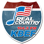 KBEF 104.5FM REAL COUNTRY