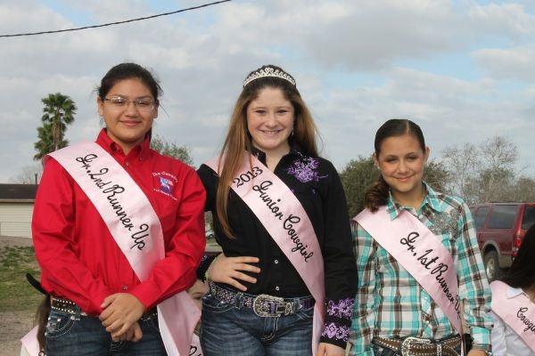 2013 - CCFLS Junior Cowgirls