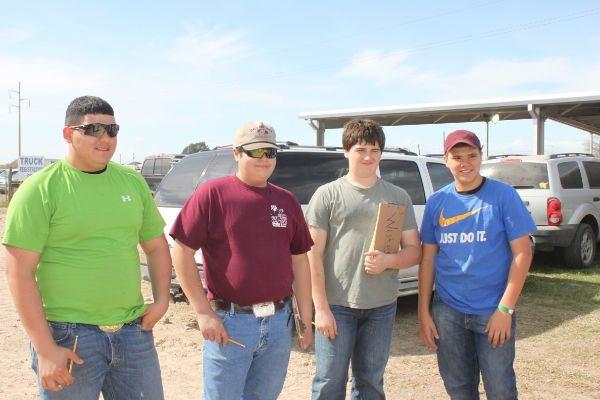 Los Fresnos 2013 livestock judging team - 3rd place.