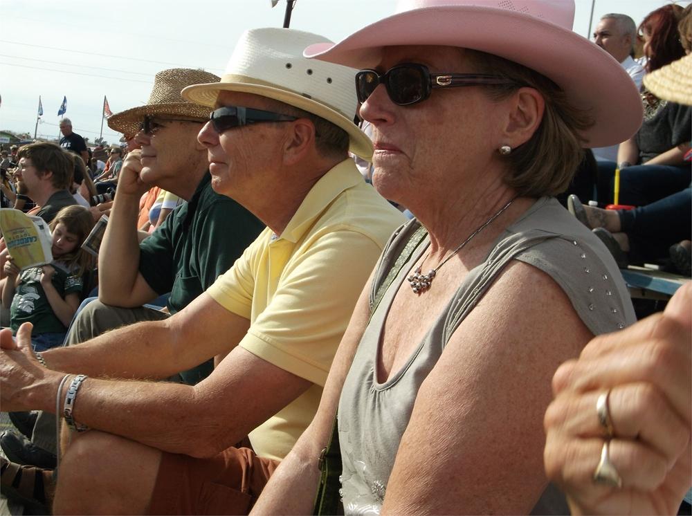 Winter Texans enjoy the rodeo!